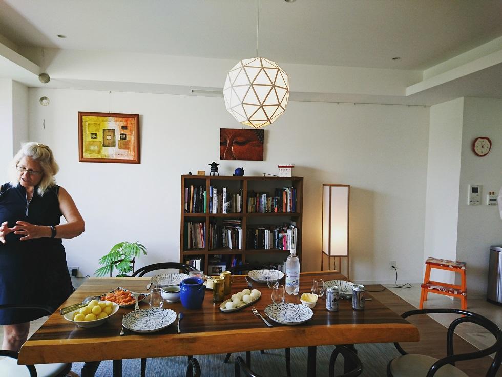 Tsukika pendantlight in dining room