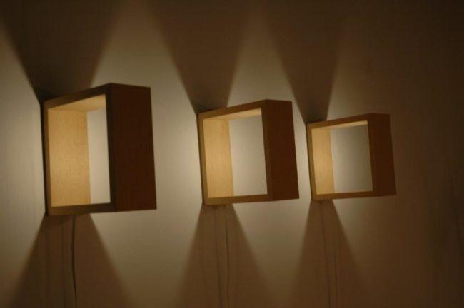 miyako andon LED wall lights